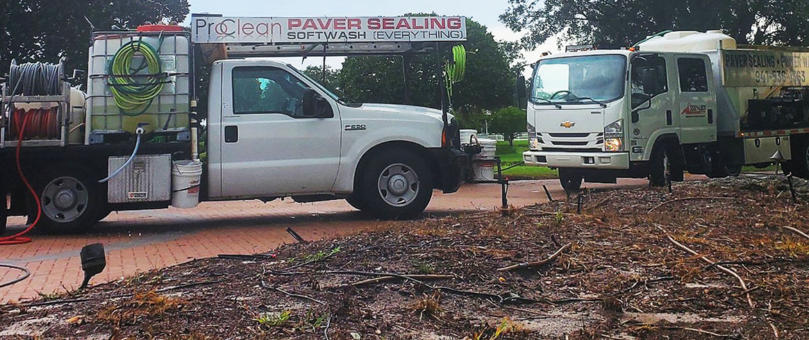 ProClean Truck Banner Power Washing Header